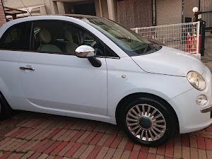 フィアット500   彼女の車😋のカスタム事例画像 Okiさんの2020年04月16日19:29の投稿