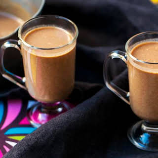 Spiced Hot Coconut Drink.
