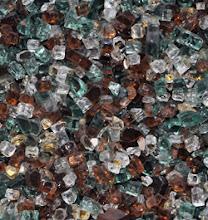 "Photo: 1/4"" Zen Garden colorFUSION Fire Glass - http://www.blazingglass.com/premixed-fireplace-glass/quarter-inch-zen-garden-colorfusion.php"