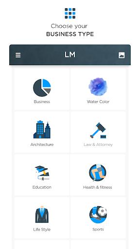 Logo Maker - Free Graphic Design Creator, Designer 130 screenshots 17
