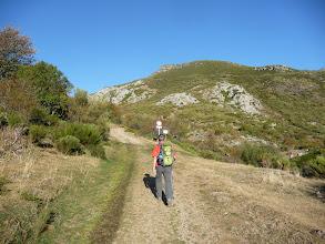Photo: La salida por la pista, hacia el norte, es evidente.