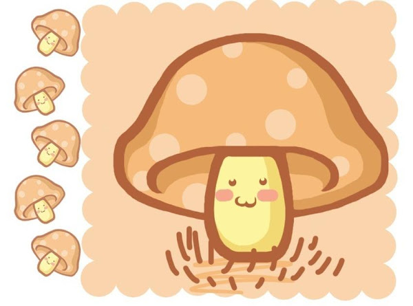 Fungi In A Bowl Soup Recipe