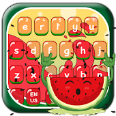 Sweet Juicy Watermelon Keyboard Theme Android APK Download Free By Penmouse Design Technologies