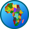 Map of Africa Free icon