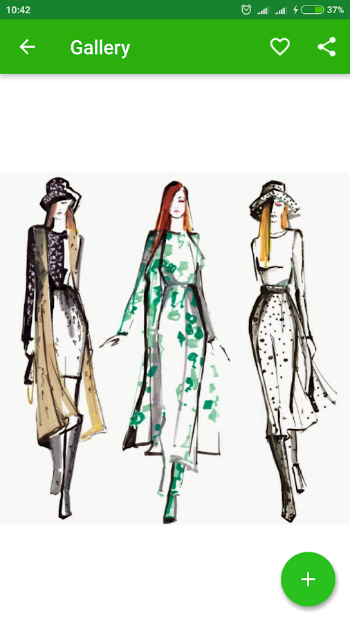 fashion sketch design ideas screenshot - Fashion Design Ideas