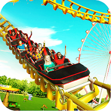 Download VR Roller Coaster Simulator 3D - Theme Park Tycoon