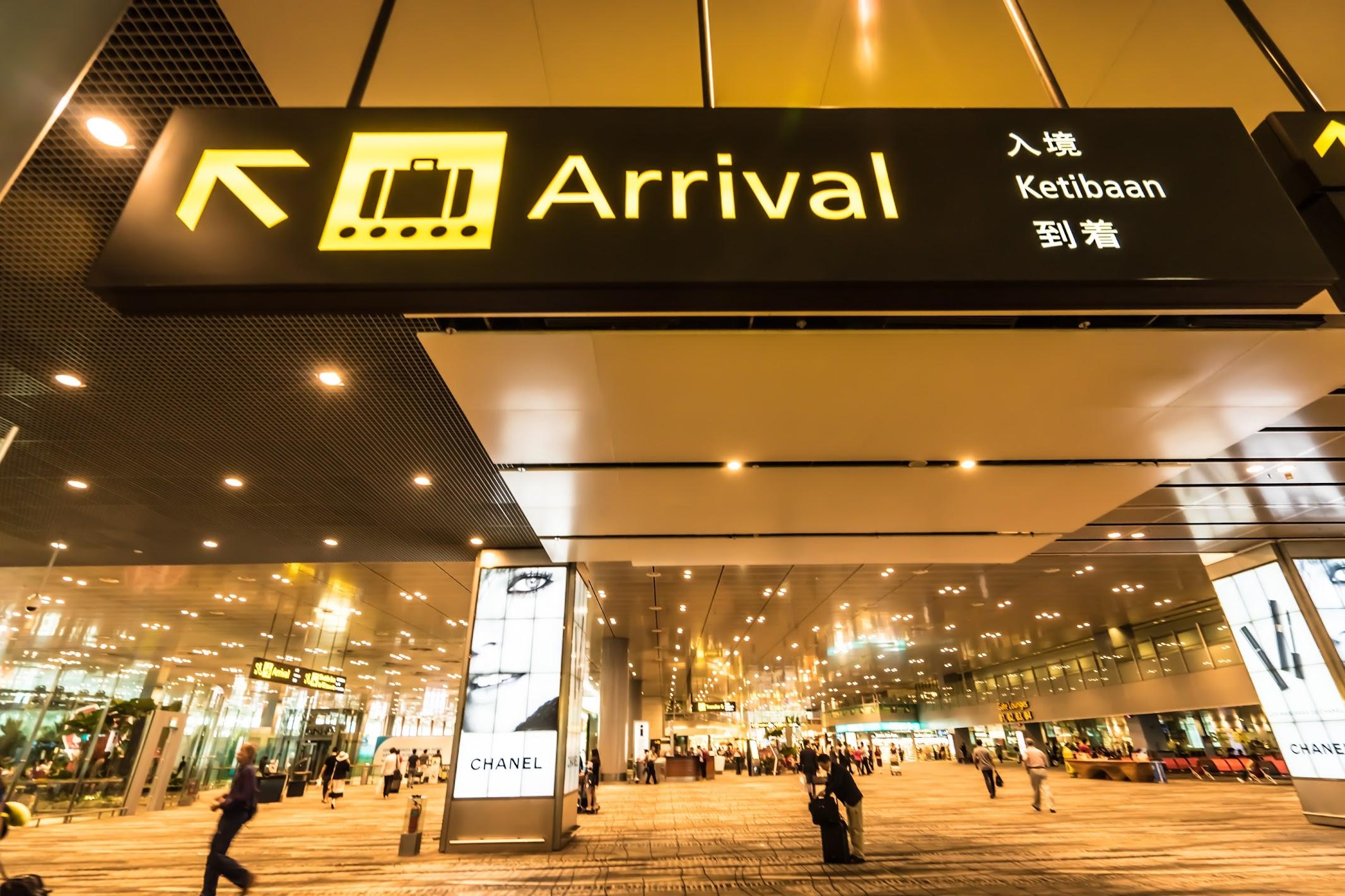 Singapore Changi airport1