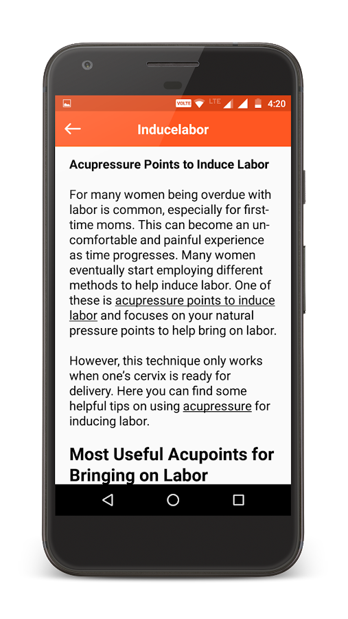 Acupressure Points full body app- screenshot