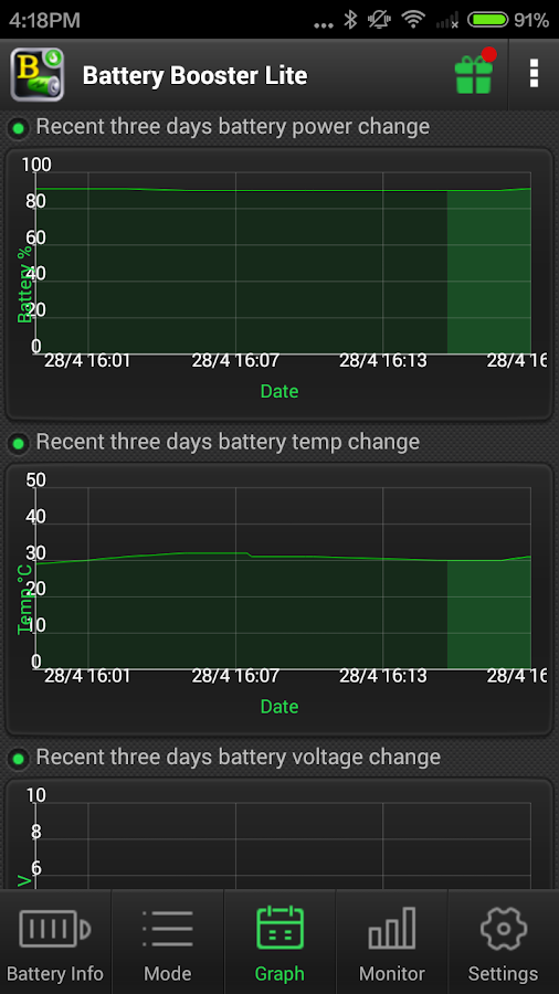 Battery Booster (Full) - screenshot