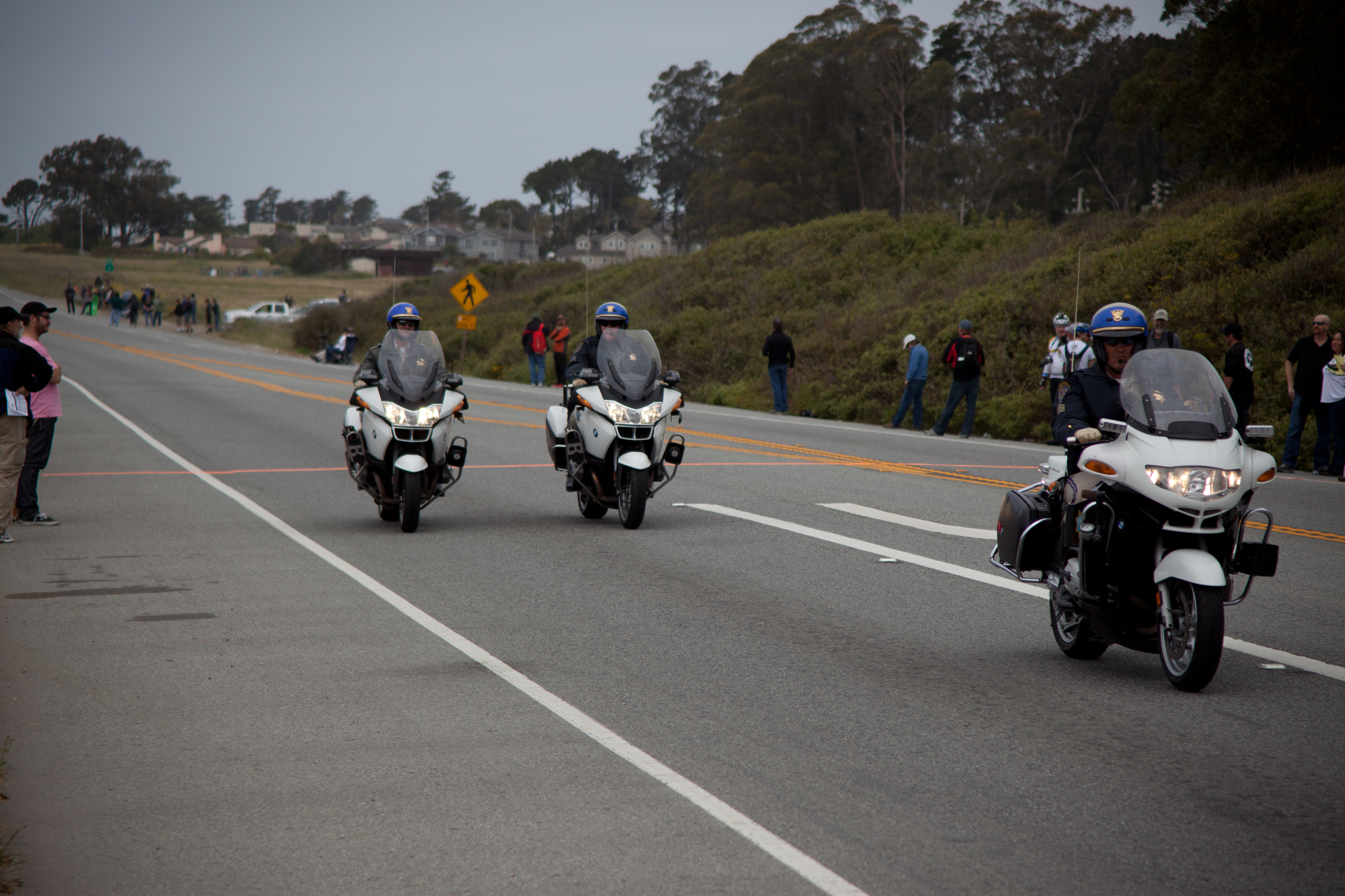Photo: Police before the race