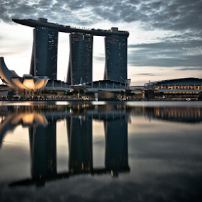 by Wah Yuen Lau - Buildings & Architecture Other Exteriors ( marina bay sands, singapore )