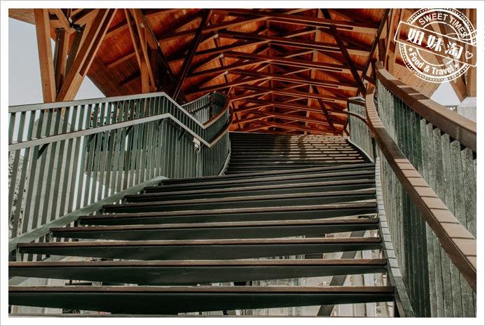 中都濕地公園樓梯