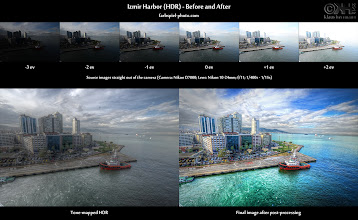 Photo: HDR Before-and-After: Izmir Harbor ( more infos at bit.ly/fp-izmirh )  Here is the Before-and-After comparison of the HDR image I posted yesterday (find the image post at bit.ly/gp-izmirh). It was created from 6 hand-held source exposures (-3ev to +2ev).  Follow Your Heart In that post (bit.ly/gp-izmirh), I talked a bit about how artists sometimes tend to produce things to please their audience instead of following their heart. It almost happened to me on this image, but I did follow my heart. Thanks for all the nice affirmative comments I received on this and thanks to all of you for your continuous support.  Resources If you'd like to know more about this image, how it was created and how you can create similar images too, take a look at these resources: 1. Photo page: [ bit.ly/fp-izmirh ] 2. Before-and-After page: [ bit.ly/fpbna-izmirh ] 3. Tutorial on hand-held HDRs: [ bit.ly/fp-hand ] 4. Tutorial on selective editing: [ bit.ly/fp-clarity ] 5. Tutorial on using Topaz Adjust: [ bit.ly/fp-tpzadj ] 6. Many more HDR tutorials: [ farbspiel-photo.com ]