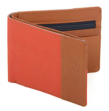 BillyBelt Wallet orange brick