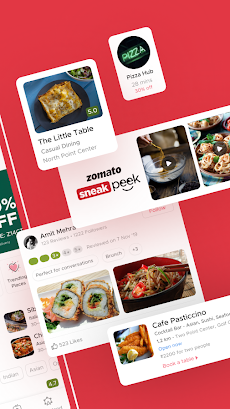 Zomato - Restaurant Finder and Food Delivery Appのおすすめ画像2