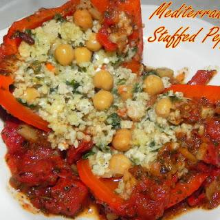 Mediterranean Stuffed Peppers.