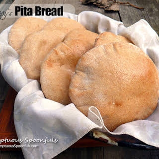 Peppy's Pita Bread {Bread Machine Recipe}.