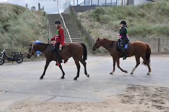 Photo: Willem en Kim in Katwijk