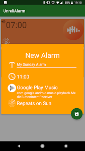 UnreliAlarm - Podcast and music alarm! 1.0.8 (Paid)