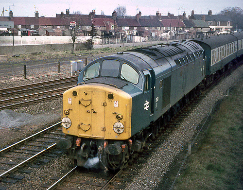 Photo: Deltic heading towards March