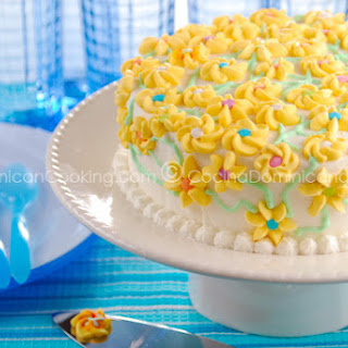 Bizcocho Dominicano Recipe (Dominican Cake).
