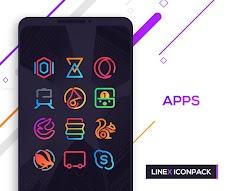 LineX Icon Packのおすすめ画像5