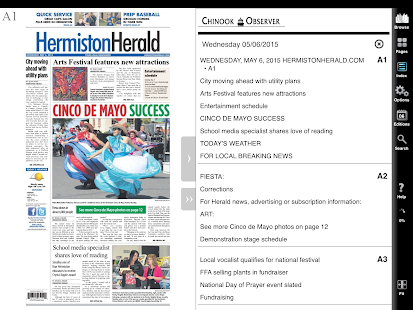 Hermiston Herald e-Edition- screenshot thumbnail