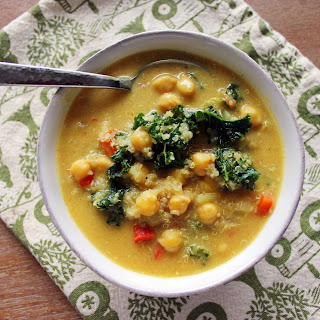 African Curried Chickpea Stew.