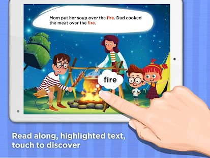 Monkey Stories: children\'s books & reading games - Android Apps on ...