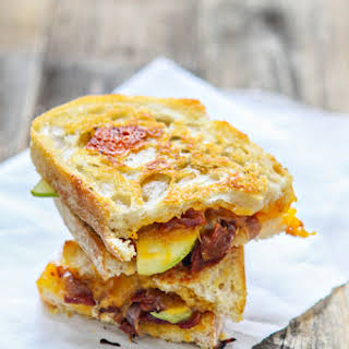 Bacon, Apple and Cheddar Grilled Cheese.