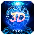 3D Hologram Tech Theme icon