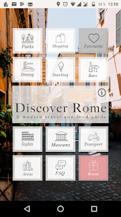 Discover Rome: A modern travel and food guide- screenshot thumbnail