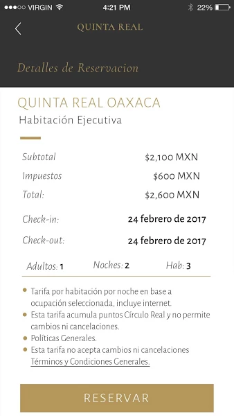 Quinta Real- screenshot