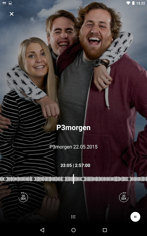 NRK Radio- screenshot