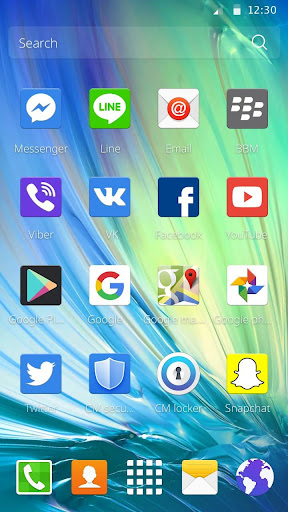 Theme for Samsung Galaxy 1.1.21 screenshots 2