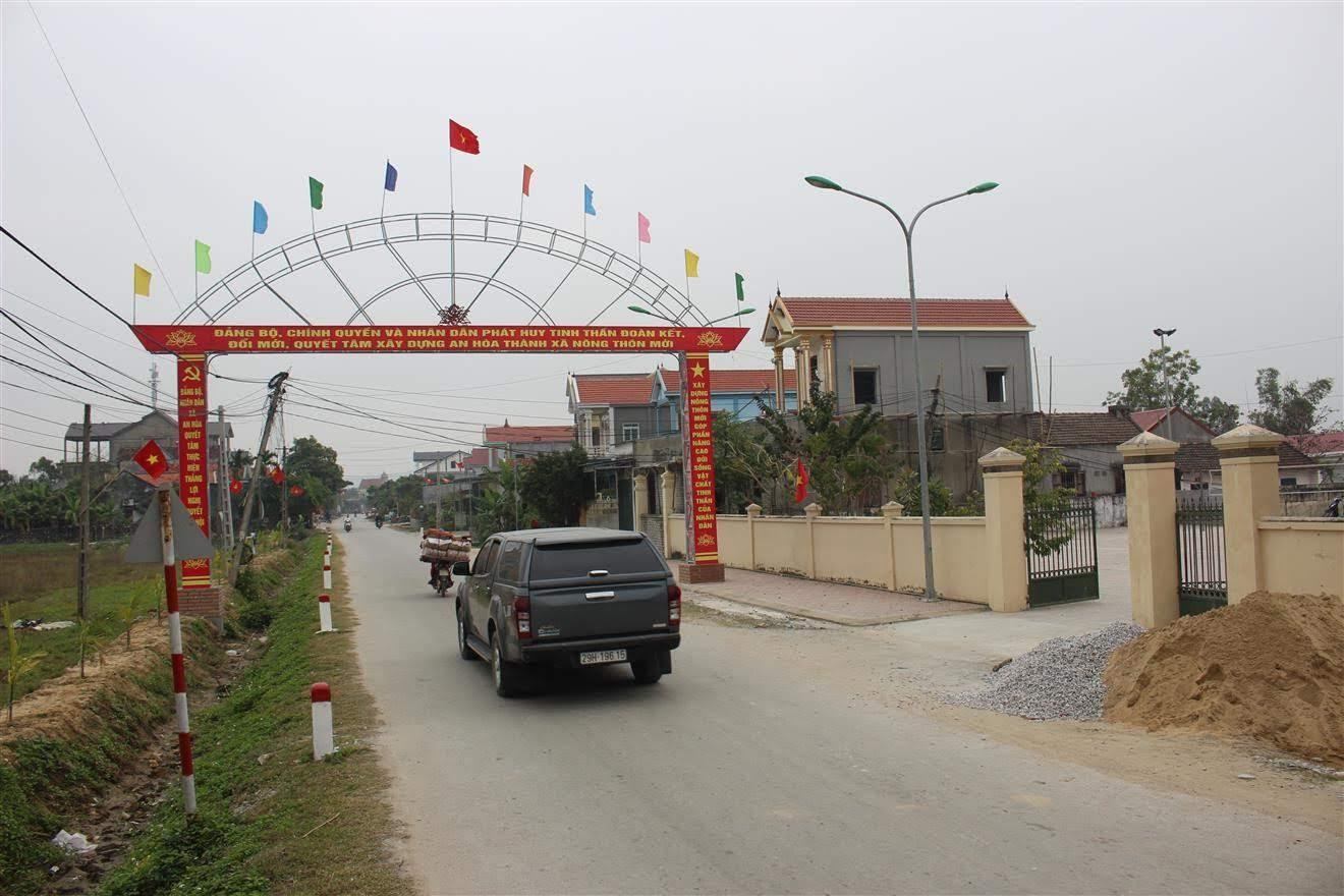 Bức tranh nông thôn mới ở Quỳnh Lưu ngày càng khang trang, hiện đại