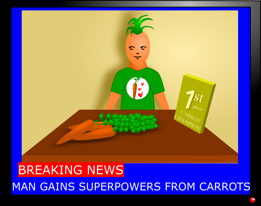 Carrots superpower sight retinal
