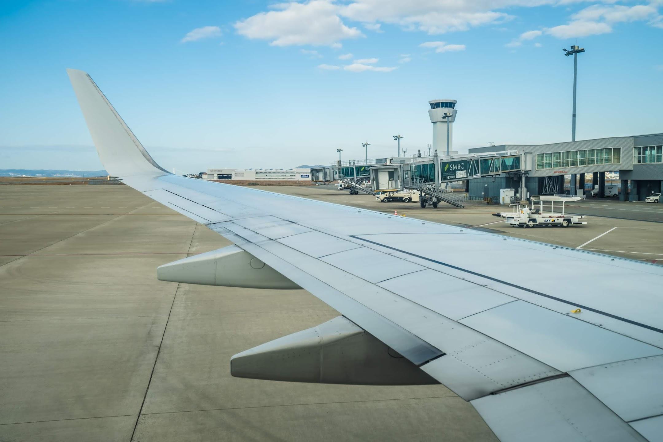 スカイマーク 神戸空港1