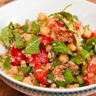 Quinoa Salad with Harissa Dressing