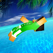 Blocky Flip Diving 3D - Super Hero Cliff Master