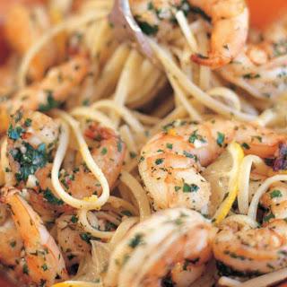 Linguine with Shrimp Scampi.