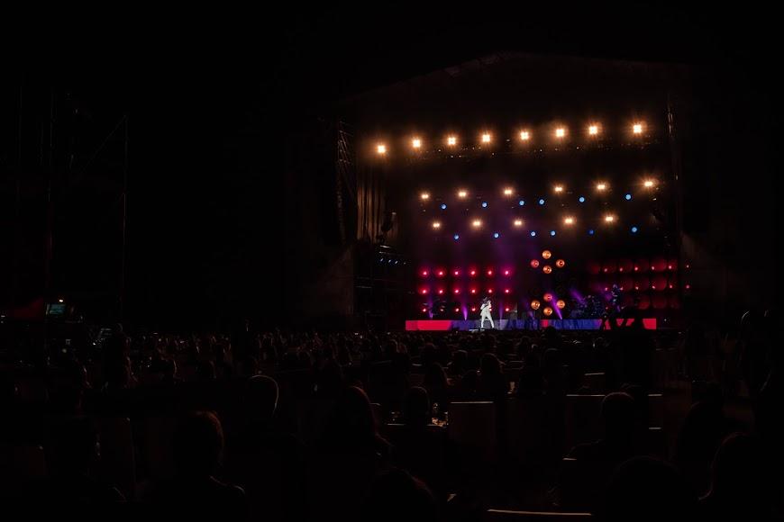 Una noche especial para todos los almerienses que acudieron al concierto