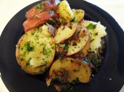 """Parsleyed Potatoes (Parsley Potatoes) """"YUM!!! This is my favorite side dish of..."""