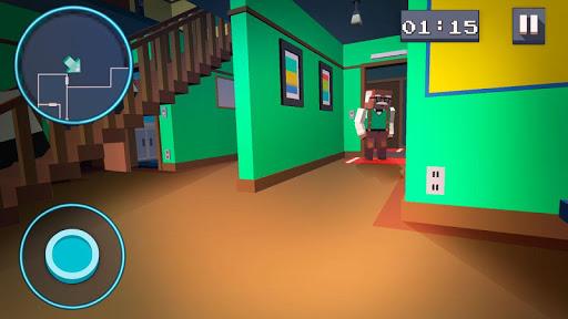 Mystery Neighbor - Cube House screenshot 4