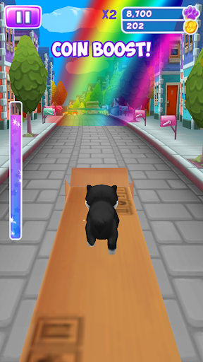 Cat Simulator - Kitty Cat Run android2mod screenshots 1