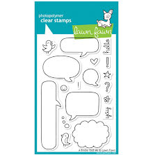 Lawn Fawn Clear Stamps 4X6 - A Birdie Told Me