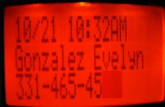 Photo: Val's Cell Phone - Caller ID.