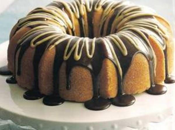 Pound Cake With Cafe Mocha Ganache Recipe