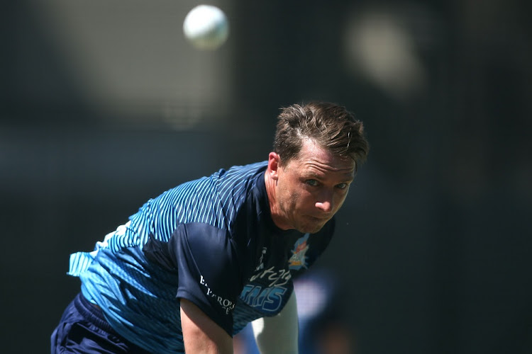 Dale Steyn at the Multiply Titans training session at PPC Newlands in Cape Town on December 07, 2017. Picture: GALLO IMAGES