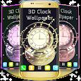 3D Clock Wallpaper icon